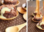 Mini brownie pour coupelle bambou