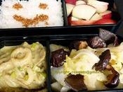 Bento Trio champignons (végétarien)