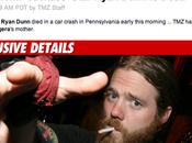 """""""Quelques heures avant drame, Ryan Dunn avait posté sur..."""