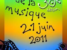 Fête musique 2011. Pour rien rater.