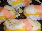 Sushis Saint-Jacques mangue