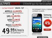 forfait Ultimate illimité Mobile disponible