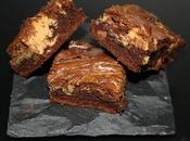 Brownie chocolat beurre cacahuète