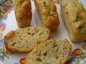 Cake olives vertes thon ciboulette