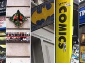 London guided tour Comic shops