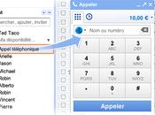 appels arrivent version Française Gmail