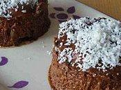 Mini entremets chocolat-ananas