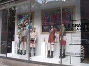 Exposition graffiti vitrine