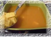 Bouillon détox DUKAN curcuma,gingembre,sauce soja,son d'avoine tofu