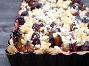 Tarte quetches crumble