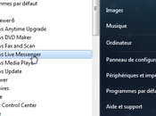 Windows Live Messenger dans zone notification