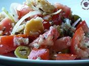 Panzanella célèbre salade pain