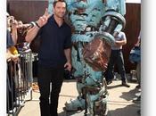 Hugh Jackman débarque Paris pour Real Steel