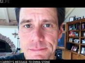 Vidéo folle déclaration Carrey Emma Stone