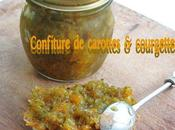 Confiture courgettes carottes, cannelle cardamome