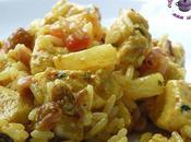 Salade poulet l'ananas façon indienne