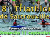 Deviations cause travaux affiche triathlon.