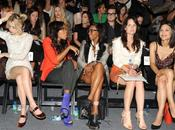 "Fashion Week Anna Wintour Nicki Minaj squattent ""Front Rows"""