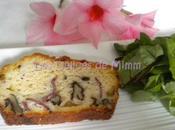 Cake magret canard fumé, noix Comté
