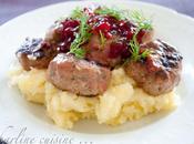 Boulettes viande suédoise