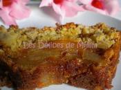 Gâteau pommes caramélisées muesli