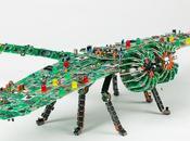 sculpture circuits imprimés