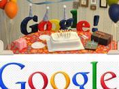 Google fête 13ème anniversaire