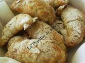 Petits croissants frangipane