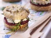 Recette cuisine fromage scones façon Ambert-burger