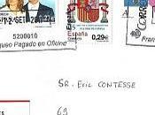 Magnifique lettre Melilla (Espagne)