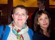 Nous avons aimé hier soir rencontrer Sophie Marceau