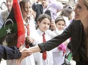 Angelina Jolie visite Libye