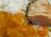 Saumon l'abricot