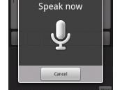 nous réserve Google avec Voice Actions pour Android