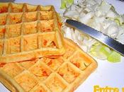 °Gaufres carotte-mimolette°