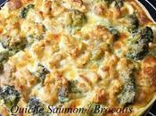 Quiche Saumon Brocolis saveurs badiane (anis étoilé)