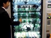 présente écran transparent interactif pouces