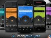 Test l'application Android Player