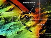 L'île volcan Hierro Apparition imminente panache cypressoïde.