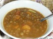 Soupe lentilles l'algérienne (sans viande