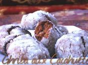 Ghriba cacahuètes غريبة بالكاوكاو