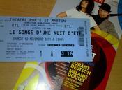 Songe d'Une Nuit d'éte Théâtre Porte Saint Martin