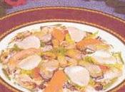 recette Epices Ragoût coquillages Sabayon gingembre pâtes fraîches