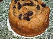 Brioche Noisettes raisins secs
