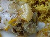 Tajine poulet clémentines