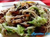 Vermicelles sautées taiwanaise 台式炒米粉 táishì chǎomǐfěn