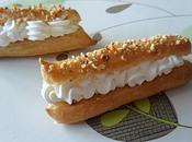 Petit choux noisettes crème Chantilly