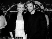 Charlize Theron Kellan Lutz event