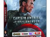 Captain America Blu-ray deux étoiles