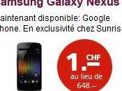 pratiques scandaleuses Sunrise! Galaxy Nexus…